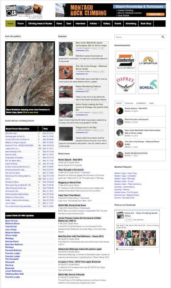 homepage_climbza