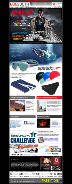 Duesouth February 2011 Newsletter