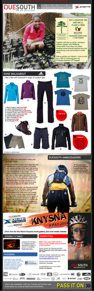 Duesouth August 2010 Newsletter