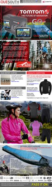 Duesouth September 2010 Newsletter