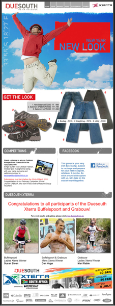 Duesouth March 2010 Newsletter